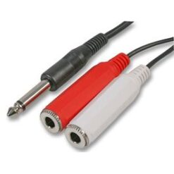 Mono - Single Ring Splitter Cable
